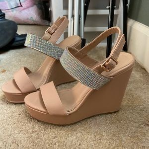 Size 6 wedges Charlotte Russe